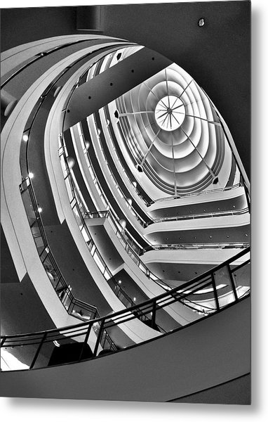 San Francisco - Nordstrom Department Store Architecture Metal Print