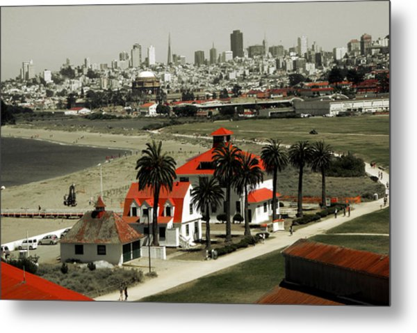 San Francisco Panorama 2015 Metal Print
