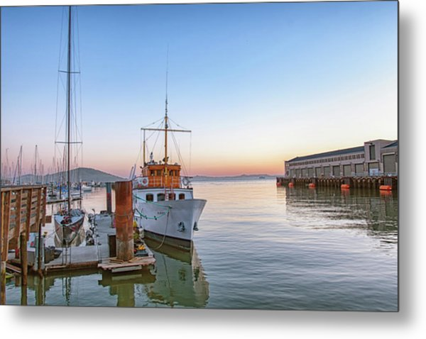 Metal Print featuring the photograph San Francisco - Pier 39 by Philip Rodgers