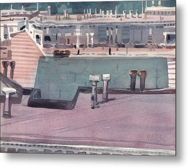 San Francisco Rooftops Metal Print by Donald Maier