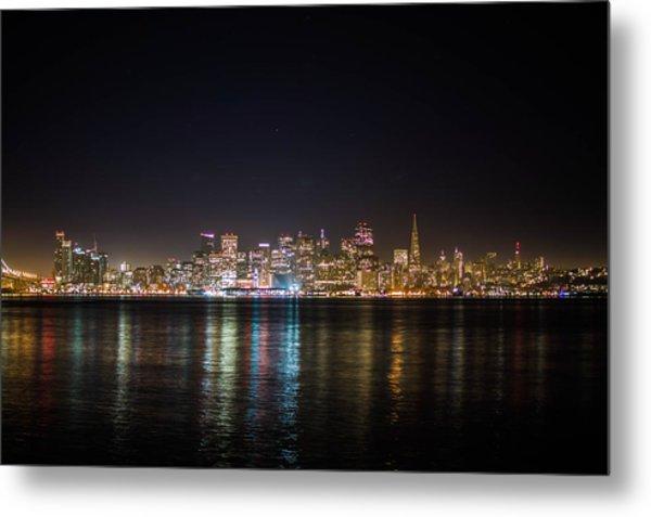 San Francisco Shot Metal Print