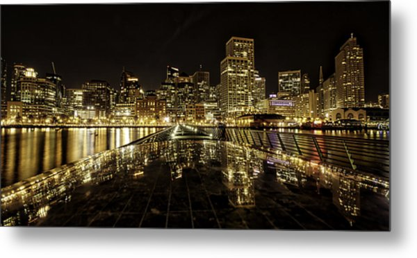 San Francisco Skyline Metal Print