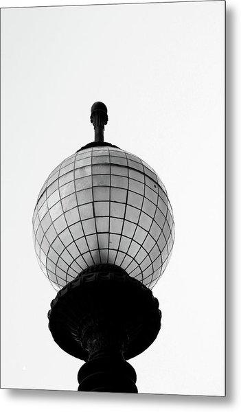 San Francisco Street Light- By Linda Woods Metal Print