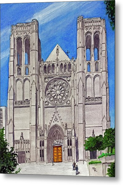 San Francisco's Grace Cathedral Metal Print