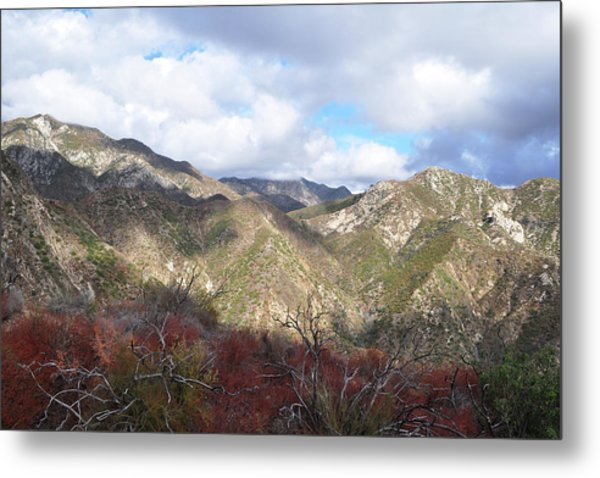 San Gabriel Mountains National Monument Metal Print