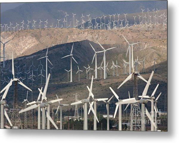 San Gorgonio Pass Wind Farm I Metal Print