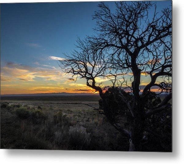 San Luis Valley Sunset - Colorado Metal Print