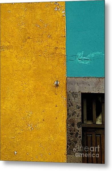 San Miguel Abstract In Turquoise And Ochre Photograph by Mexicolors ...
