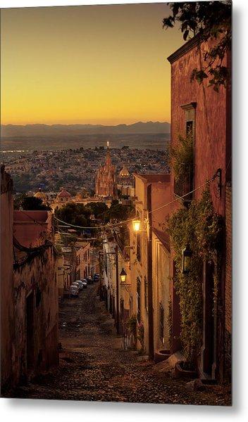 San Miguel De Allende Sunset Metal Print