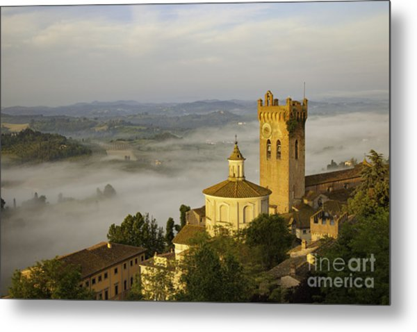Metal Print featuring the photograph San Miniato by Brian Jannsen
