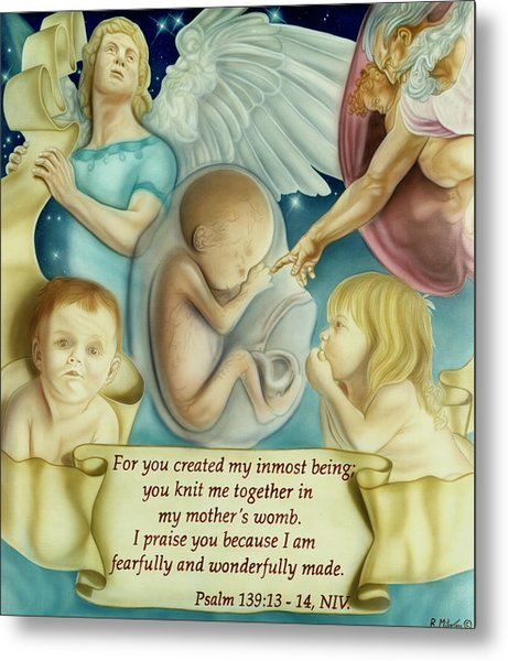 Sanctity Of Life Metal Print