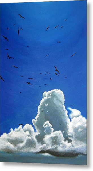 Sanctuary Metal Print by Fiona Jack