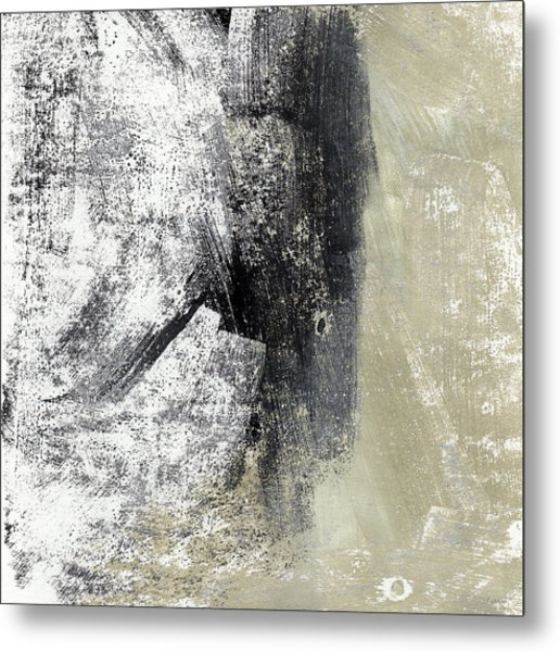 Sand And Steel- Abstract Art Metal Print