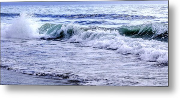 Sand And Surf  Metal Print