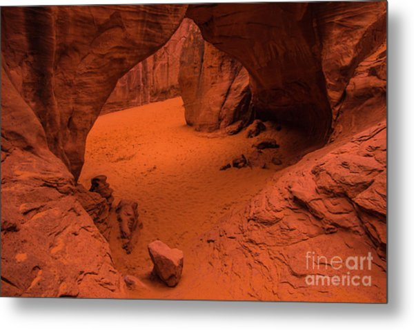Sand Dune Arch - Arches National Park - Utah Metal Print
