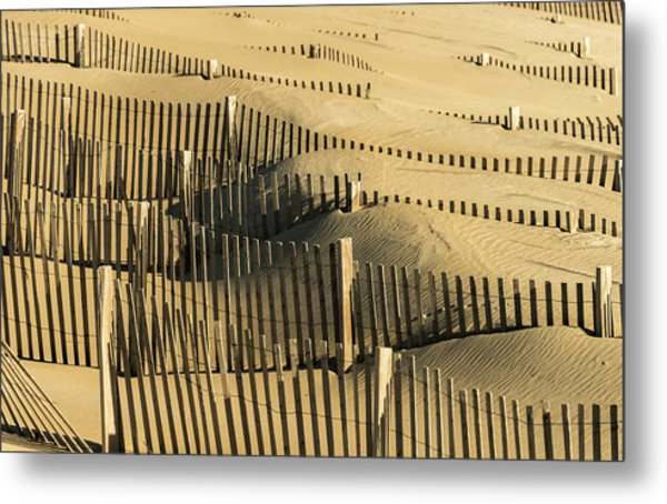 Sand Dunes Of The Outer Banks Metal Print