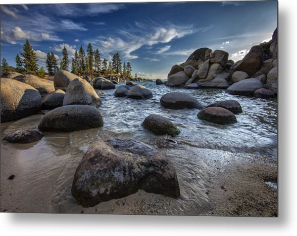 Sand Harbor II Metal Print
