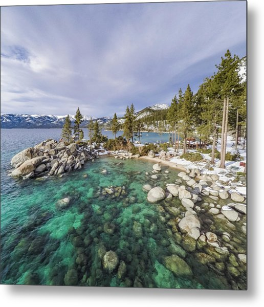 Sand Harbor Views Metal Print