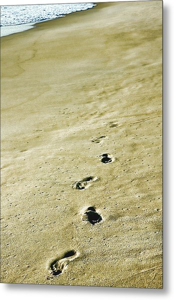 Sand In Motion Metal Print by JAMART Photography