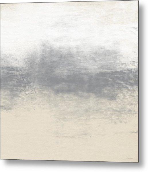 Sand Swept- Abstract Art By Linda Woods Metal Print