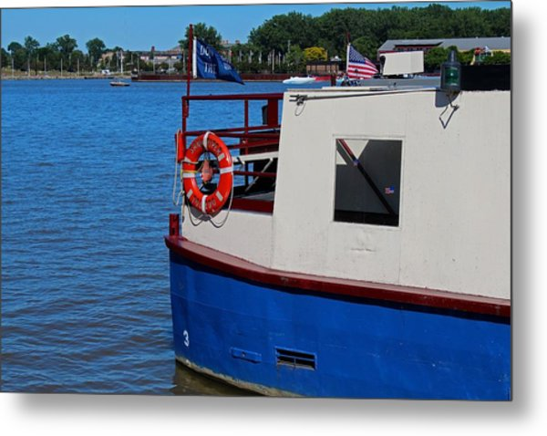 Sandpiper On The Maumee Metal Print