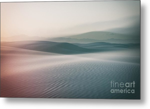 Sands Sunset Metal Print