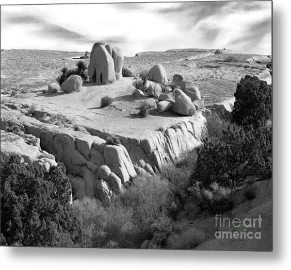 Sandstone Plateau Metal Print by Christian Slanec