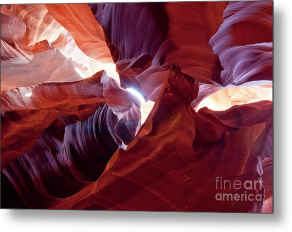 Sandstone Unfurled Metal Print