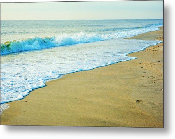 Sandy Hook Beach, New Jersey, Usa Metal Print
