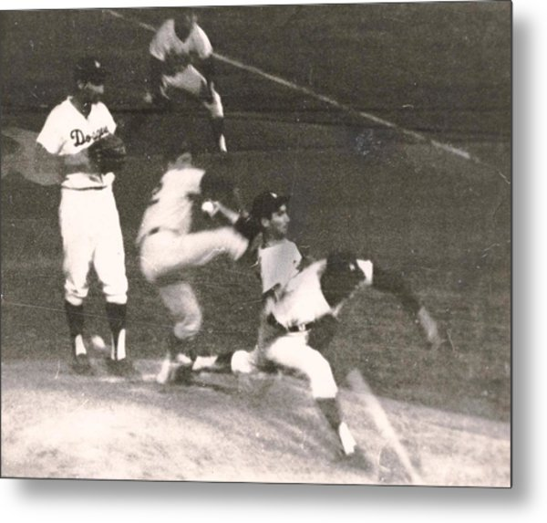 Sandy Koufax Windup Metal Print