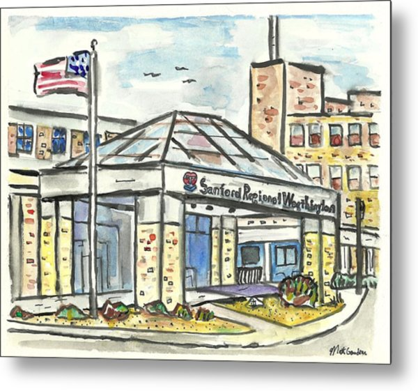 Sanford Regional Worthington Metal Print