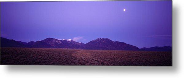 Sangre De Cristo Mountains At Sunset Metal Print