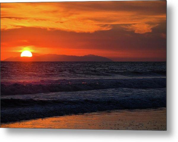 Santa Catalina Island Sunset Metal Print