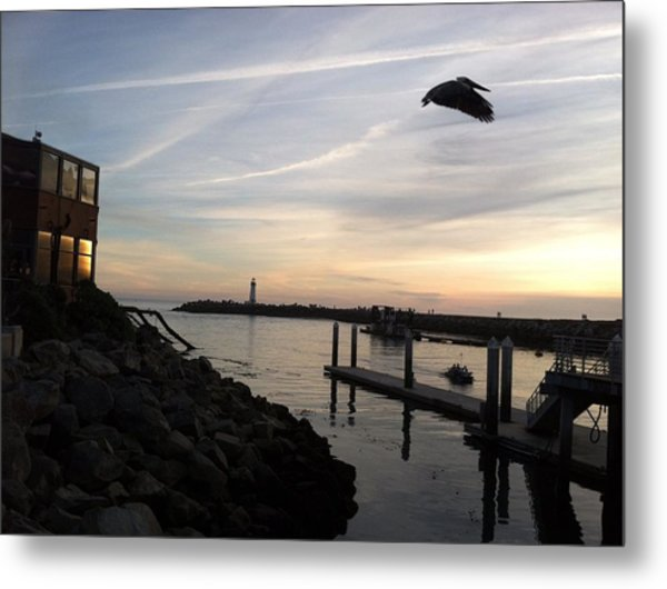 Santa Cruz Evening Metal Print