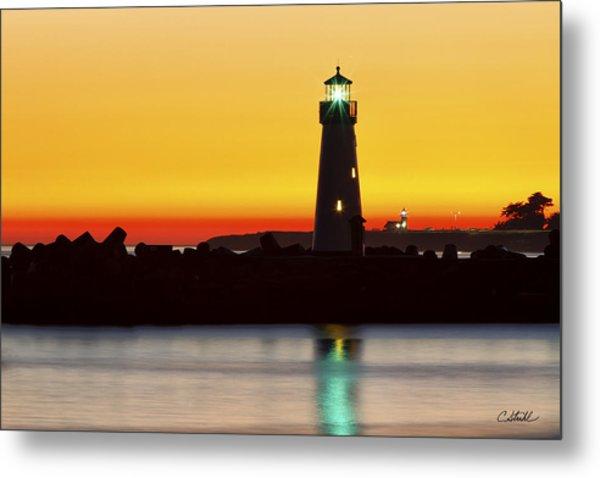 Santa Cruz Lighthouses Metal Print