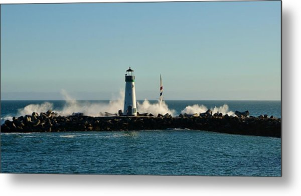 Santa Cruz Walton Lighthouse Metal Print