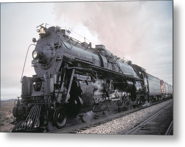 Santa Fe No 3751 North Edwards California Metal Print