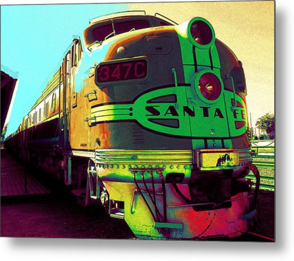 Santa Fe Railroad New Mexico Metal Print