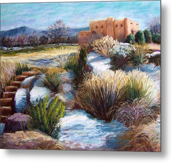 Santa Fe Spring Metal Print by Candy Mayer