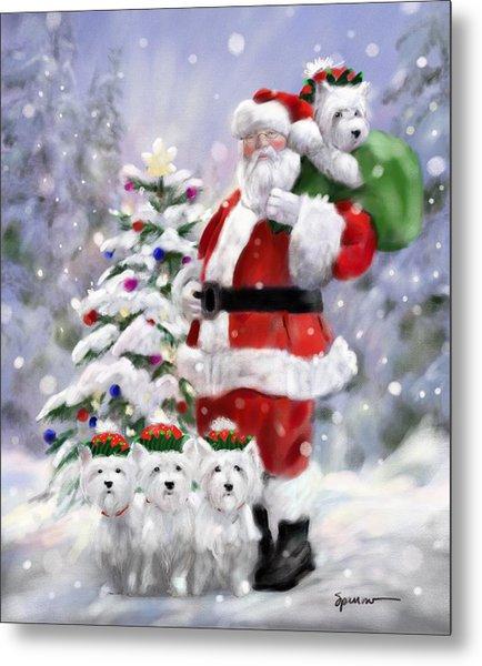 Santa's Helpers Metal Print