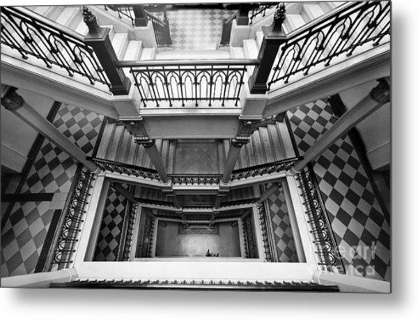 Sao Paulo - Gorgeous Staircases Metal Print