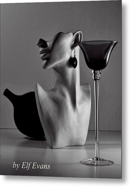 Shape Shifting II Metal Print