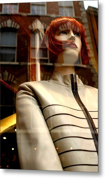 Sarah Dressed For The Kill Metal Print by Jez C Self