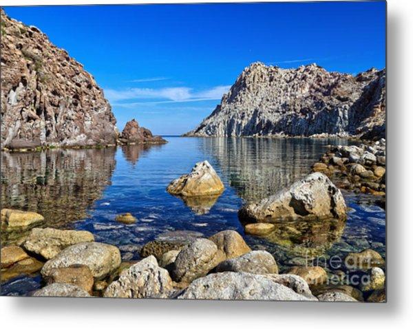 Sardinia - Calafico Bay  Metal Print