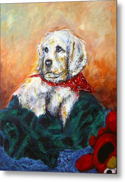 Metal Print featuring the painting Sassy by Thomas Lupari