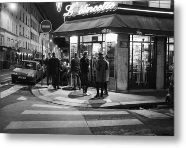 Saturday Evening In Paris Metal Print