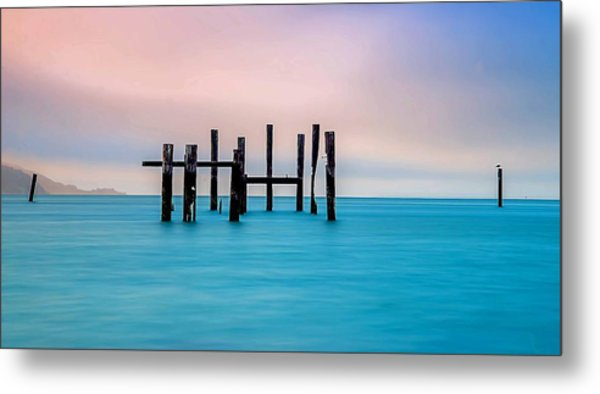 Sausalito Morning Metal Print