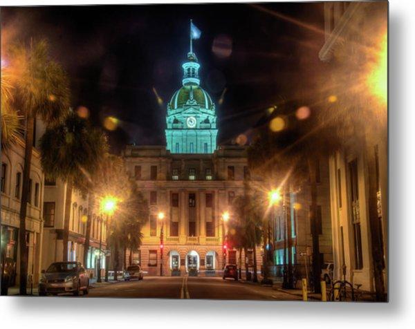 Savannah City Hall Metal Print