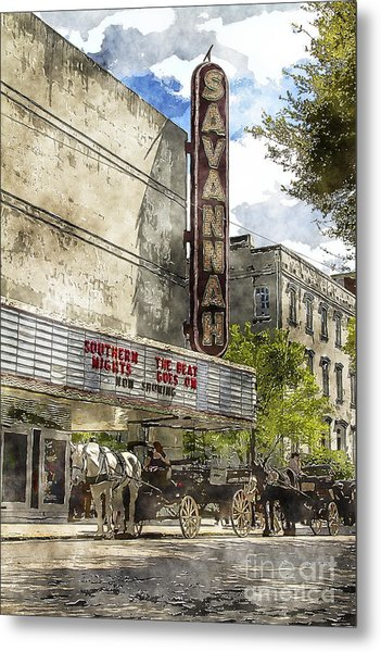Savannah Theatre Metal Print