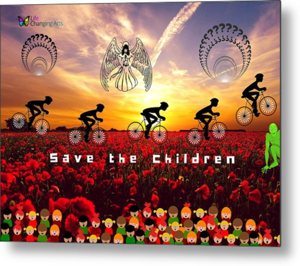 Save The Children Metal Print